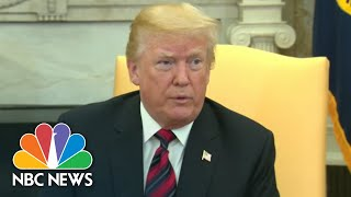 President Donald Trump On China Trade Talks: 'There Is No Deal' | NBC News - NBCNEWS