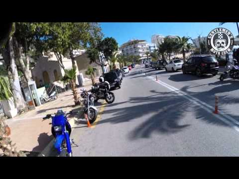 Gentlemen's moto crew first ride @ Loutraki 19/1/14