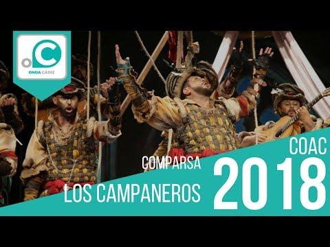 Sesión de Cuartos de final, la agrupación Los campaneros actúa hoy en la modalidad de Comparsas.