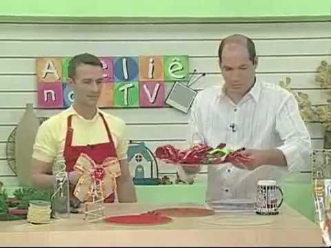 Faça Enfeites de Natal com Materiais Reciclaveis - Atelie na TV