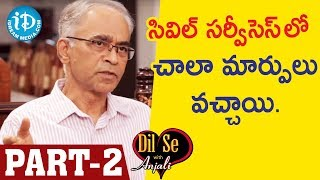 Retd DGP Dr.Karnam Aravinda Rao IPS Exclusive Interview - Part #2 || Dil Se With Anjali - IDREAMMOVIES