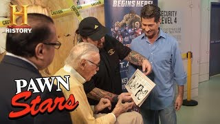 Pawn Stars: Stan Lee Meets Chumlee (Season 14) | History - HISTORYCHANNEL