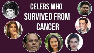 7 Indian Film Celebrities Who Fought And Survived Cancer | Mango News - MANGONEWS