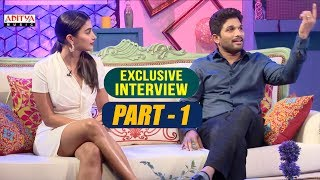 Exclusive Interview With Allu Arjun & Pooja Hegde | Part-01  | Aditya Music | DSP | Harish Shankar - ADITYAMUSIC