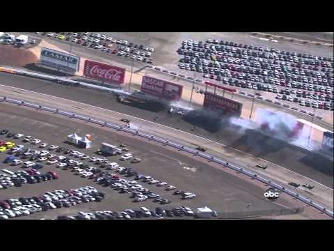 Dan Wheldon Fatal Crash: Live, Replays, and Announcement (HD)