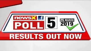 Lok Sabha Elections 2019, NewsX Opinion Poll: Daily Poll Survey 5, Who's leading BJP vs Congress? - NEWSXLIVE