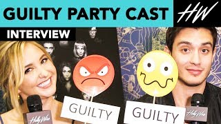 'Guilty Party', Gabriel Conte & Audrey Whitby Expose Their Guilty Secrets!! | Hollywire - HOLLYWIRETV