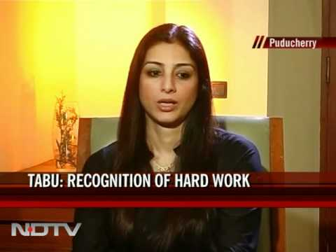 Tabu on winning Padma Shri