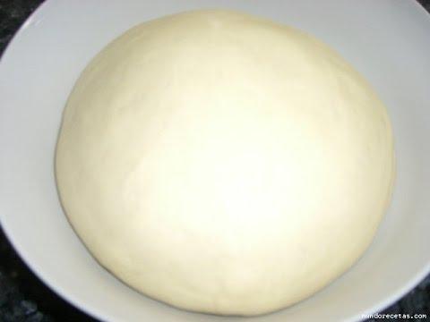 Como hacer masa para pizza casera