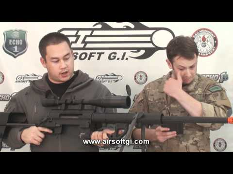Airsoft GI - Cheytac M200 Intervention Sniper Rifle (lic. by SOCOM Gear) Review
