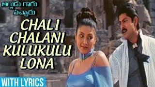 Chali Chalani Kulukulu Lona Video Song With Lyrics | Alludu Garu Vachcharu | Jagapathi Babu |  Heera - RAJSHRITELUGU