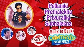 Rajendra Prasad's Pellaniki Premalekha Priyuraliki Subhalekha Comedy Scenes Back To Back Part 02 - RAJSHRITELUGU