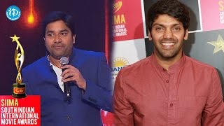 SIIMA 2014 || Tamil Best Actor in Supporting Role || Arya - IDREAMMOVIES