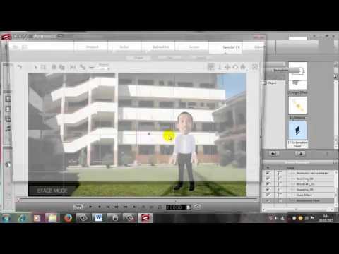 13. Cara membuat video bahan ajar dengan Crazytalk animator by Pak Sukani