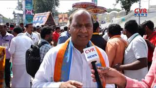 TTD JEO Srinivasa Raju Face to Face Over Tirumala Garuda Seva Arrangements | CVR News - CVRNEWSOFFICIAL