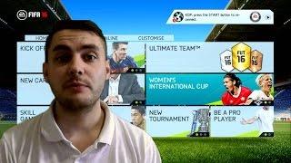 FIFA 16 ОБЗОР ИГРЫ НА РУССКОМ / ЖЕНСКИЙ ФУТБОЛ / ЧАСТЬ 2
