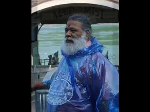 Sri Swamiji on the Maid of the Mist