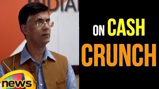 Pawan Khera in Congress HQ on Cash Crunch | Mango News - MANGONEWS
