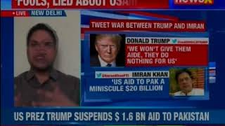 Donald Trump and Imran Khan troll each other amid further decline US-PAK ties - NEWSXLIVE