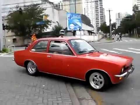 Acidente com Chevette Preparado - Curitiba