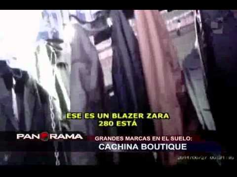 Cachina Boutique: delincuentes roban y comercializan exclusivas marcas de ropa