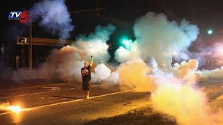 Protests, Looting in Ferguson | Police Fire Tear Gas : TV5 News - TV5NEWSCHANNEL