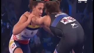 PWL 3 Day 14: Koumba larroque VS Cynthia Vescan at Pro Wrestling League season 3 |Full Match - NEWSXLIVE