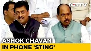 """Want To Quit"": Alleged Ashok Chavan Tape Embarrasses Congress - NDTV"
