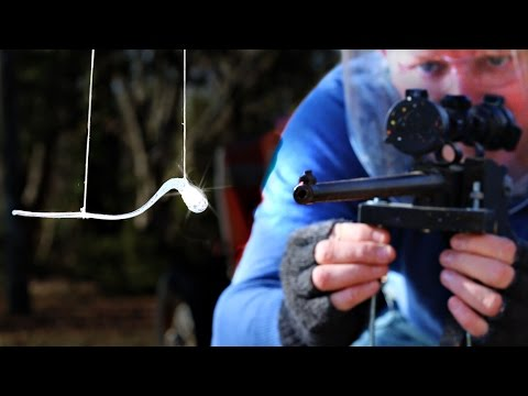Bullet vs Prince Rupert's Drop at 150,000 fps - Smarter Every Day 165