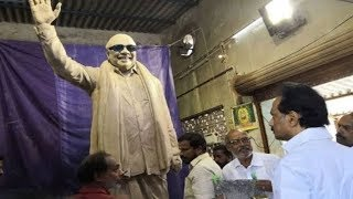 National level leaders invited to Karunanidhi's statue unveiling; Sonia Gandhi to meet Stalin - NEWSXLIVE