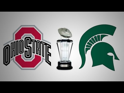 2013 Big Ten Championship Game Hype Video - Michigan State vs Ohio State