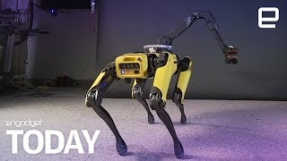 Boston Dynamics is making robots that twerk and parkour  | Engadget Today - ENGADGET