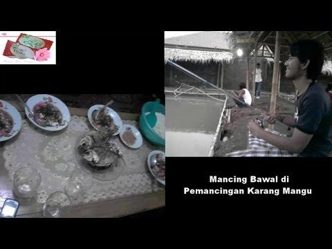 Mancing Ikan Bawal di Pemancingan
