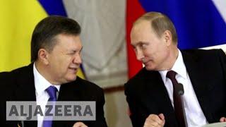 Ukrainians protest Saakashvili's conspiracy charges - ALJAZEERAENGLISH