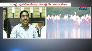 Minister Ponguru Narayana Review on Flamingo Festival Celebrations 2018 | CVR News - CVRNEWSOFFICIAL