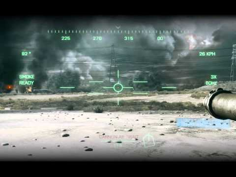 [PC-HD]Battlefield 3 Singleplayer Campaign ( Sixth Mission - Thunder Run ) Tanks!