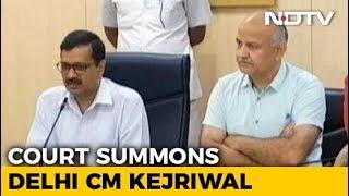 In Bureaucrat's Assault, Arvind Kejriwal, AAP Lawmakers Summoned By Court - NDTV