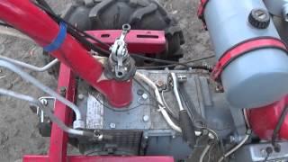 Регулировка передач, блокировки и сцепления на мотоблоке Мотор Сич.