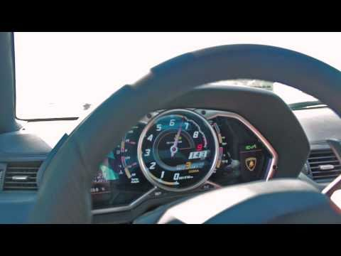 Lamborghini Aventador 0-235kph acceleration and more!