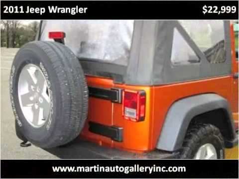 2011 Jeep Wrangler Used Cars Pittsburg PA