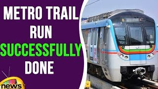 Hyderabad Metro Trail Run Was Successfully Done Today | Mango News - MANGONEWS