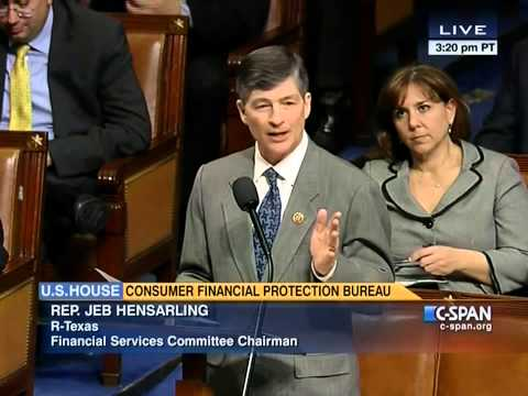 Chairman Hensarling MTR Debate: H.R. 3193