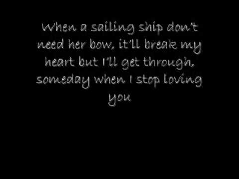 Someday When I Stop Loving You Carrie Underwood LYRICS 