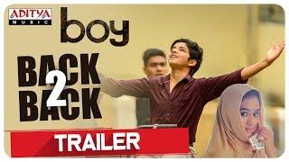 Boy Telugu Movie Back To Back Trailers   Lakshya Sinha, Sahiti   Amar Viswaraj - ADITYAMUSIC