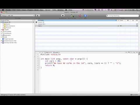 C Programming on the Mac L39 - Conditional Operator
