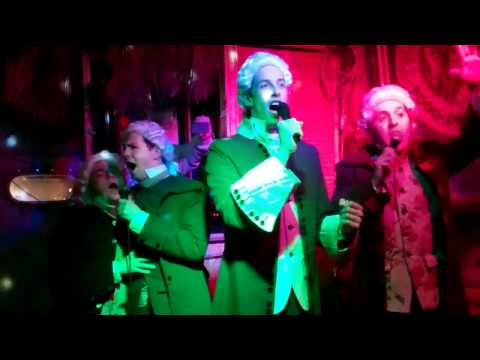 Founding Fathers Sing Smash Mouth's All Star – Karaoke at Trader Todds, Chicago