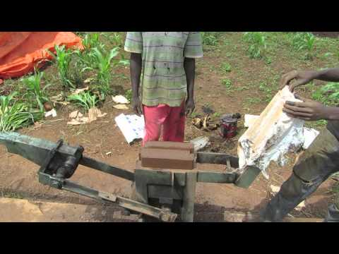 How to make an Interlocking Soil Stabilised Brick (ISSB)