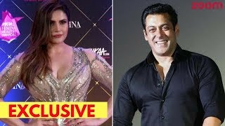 Zareen Khan Gives A Perfect Reply When Asked About Salman Khan Being Behind Her Success - ZOOMDEKHO