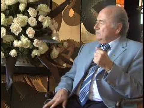 Interview with Sepp Blatter, FIFA President