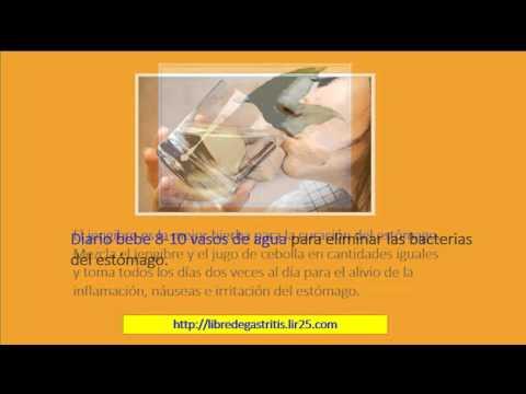 Como Curar La Gastritis Cronica